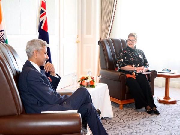 External Affairs Minister S Jaishankar met his Australian counterpart, Marise Payne.