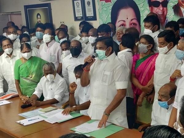 Tamil Nadu Chief Minister and AIADMK leader Edappadi K Palaniswami.