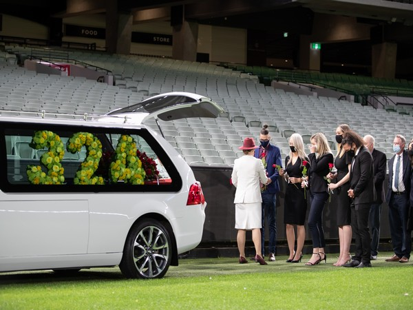 Dean Jones given final farewell at the MCG (Photo/ Cricket Australia Twitter)