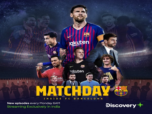 Matchday - Inside FC Barcelona is an eight episodic docuseries. (Photo/ Barcelona Twitter)