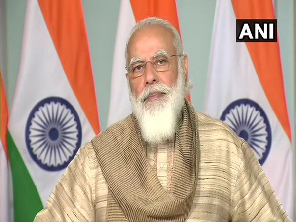 Prime Minister Narendra Modi addressed the people of West Bengal on Thursday. (Photo/ANI)
