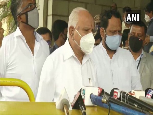 Karnataka Chief Minister B S Yediyurappa. (File Photo/ANI)
