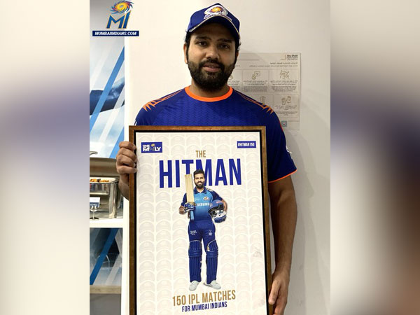 Mumbai Indians' skipper Rohit Sharma. (Photo/ Mumbai Indians Twitter)
