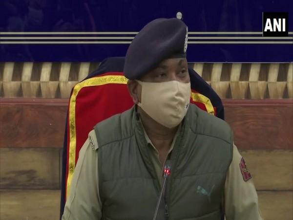 Dilbag Singh, Director General of Police (DGP), Jammu and Kashmir (Photo/ANI)