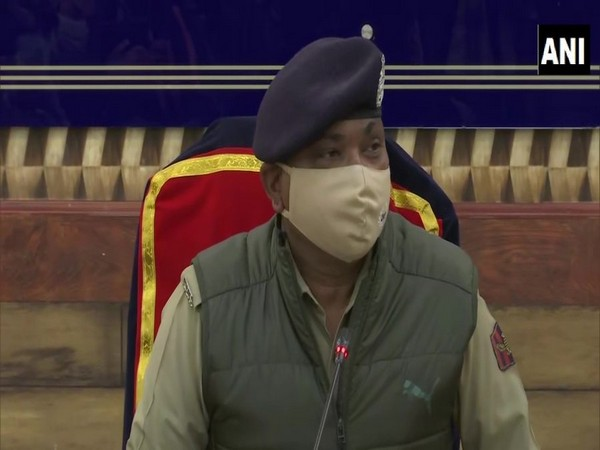 Jammu and Kashmir DGP Dilbag Singh [File Photo]