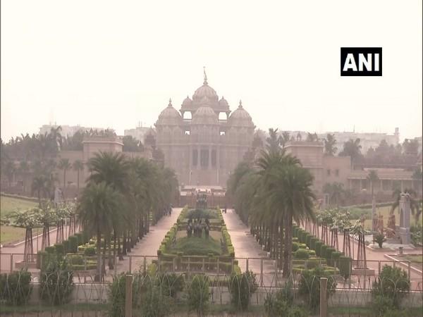 Swaminarayan Akshardham Temple reopens for visitors (Photo/ANI)