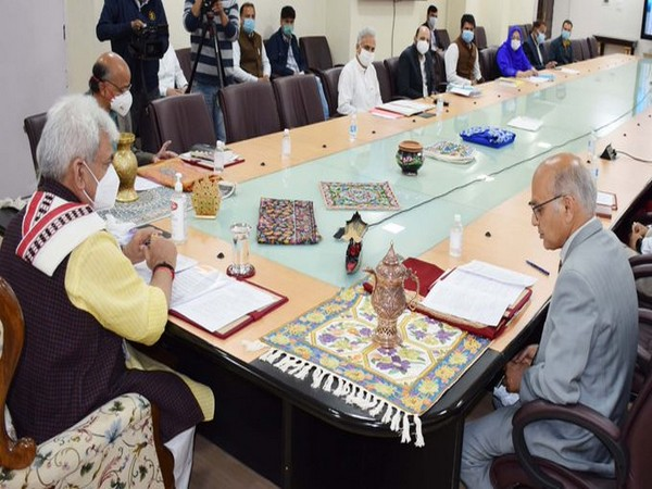 Visual from the meeting (Photo/ANI)