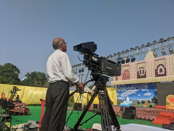 Doordarshan team preparing for Ram Leela  telecast from Ayodhya (PhotoTwitter)