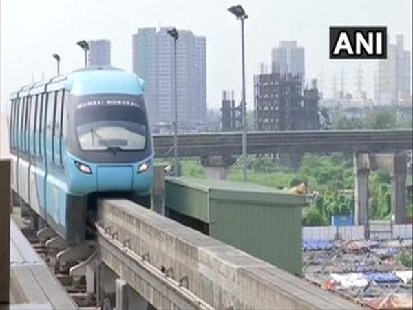 Mumbai Monorail services resumed on Sunday (Photo/ANI)