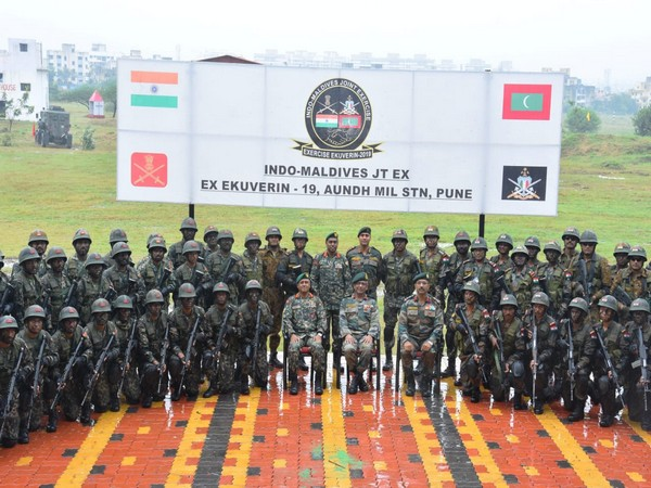 India-Maldives joint exercise 'Ex EKUVERIN – 2019' culminated on Saturday.