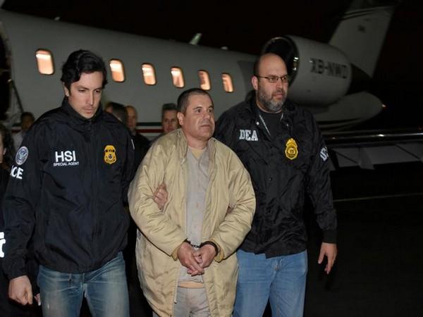 Convicted drug lord El Chapo (file photo)