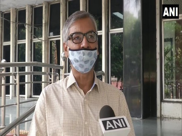 Dr Vijay Kumar Soni, Head of the Environment Monitoring and Research Center in conversation with ANI. (Photo/ANI)