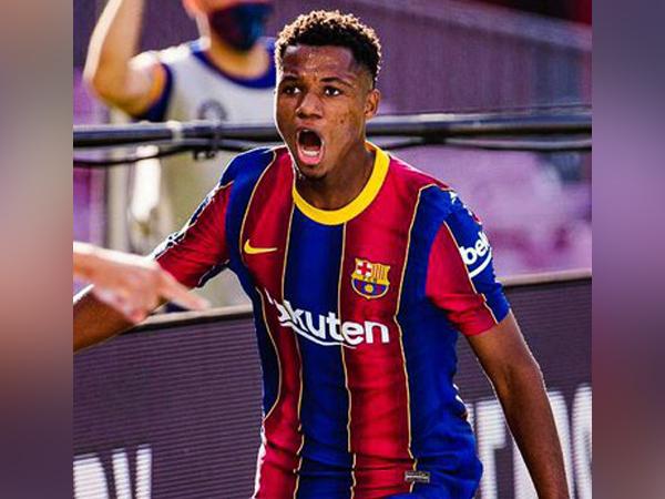 Barcelona's Ansu Fati (Photo/ FC Barcelona Twitter)