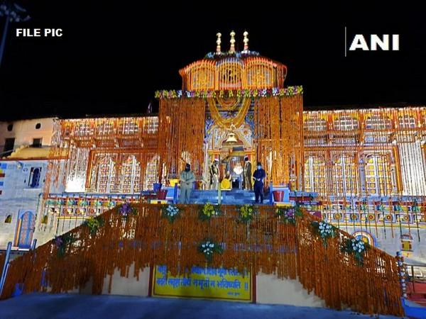 Badrinath Temple (File Photo/ANI)