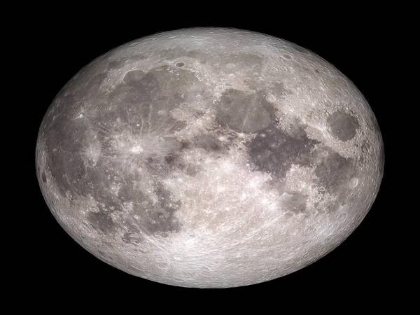 Moon (Photo: NASA Twitter)