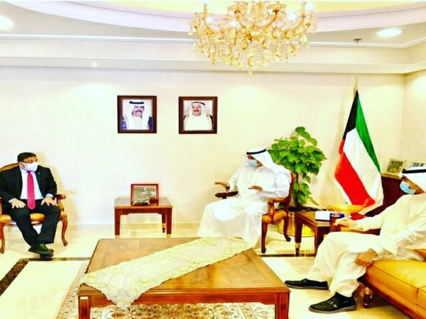 Indian Ambassador to Kuwait, Sibi George, on Monday met with Kuwaiti assistant foreign minister for Asia Affairs, Sulaiman Ali Al-Saeed