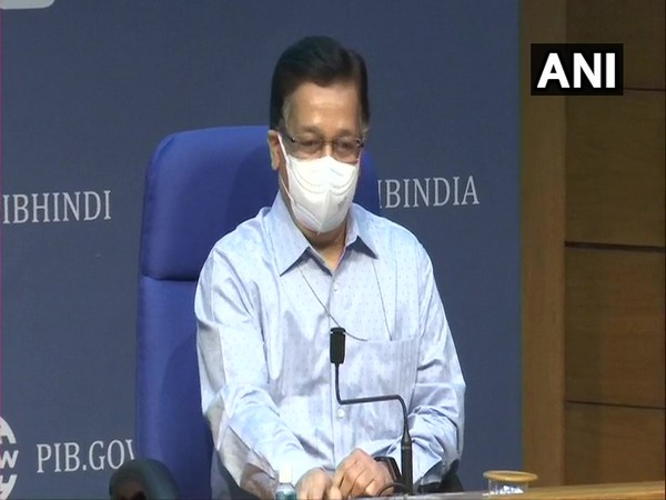 Union Health Secretary Rajesh Bhushan (Photo/ANI)