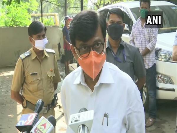 Shiv Sena leader Sanjay Raut (Photo/ANI)