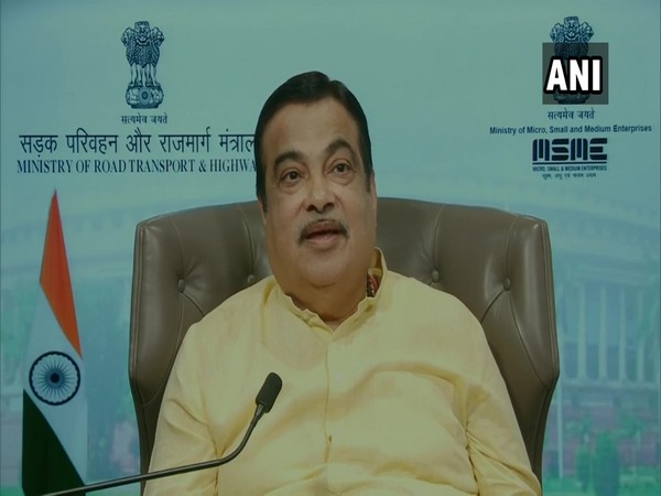 Union Minister Nitin Gadkari [Photo/ANI]