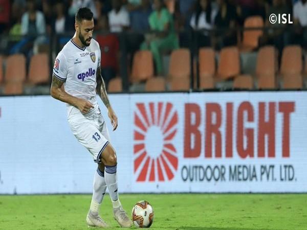 Chennaiyin FC defender Eli Sabia (Photo/Indian Super League Twitter)