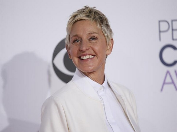 Ellen DeGeneres at the 2015 People's Choice Awards