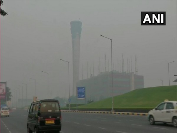Visuals from near the Indira Gandhi International (IGI) Airport. (Photo/ANI)