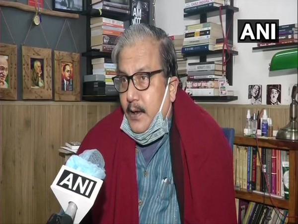 Rashtriya Janata Dal leader Manoj Jha