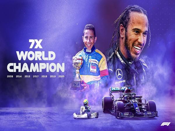 Lewis Hamilton (Photo/ Formula 1 Twitter)