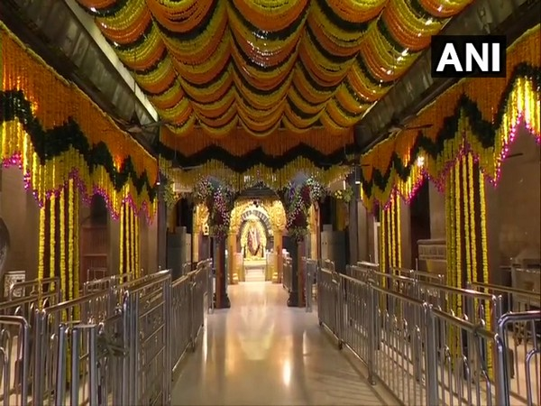 Sai Baba temple in Shirdi. (Photo/ANI)