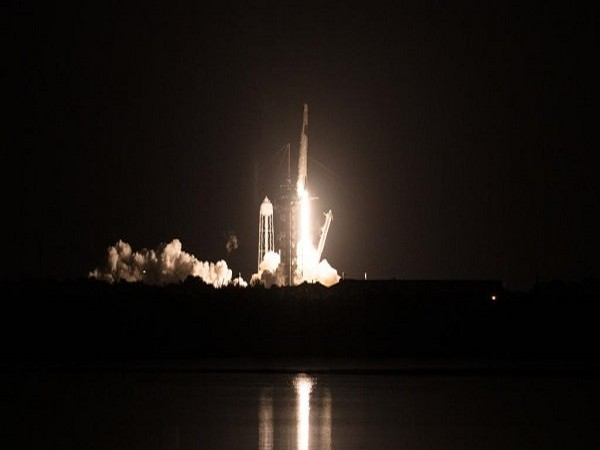SpaceX's Crew Dragon capsule launches on Sunday (Credit: NASA/Twitter)