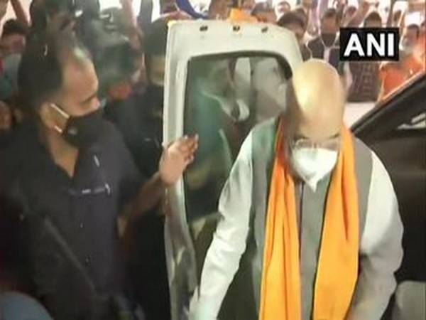 Home Minister and Bharatiya Janata Party (BJP) leader Amit Shah (Photo/ANI)