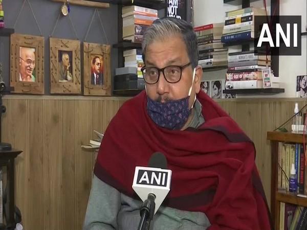 Rashtriya Janata Dal (RJD) MP Manoj Jha. (File Photo)