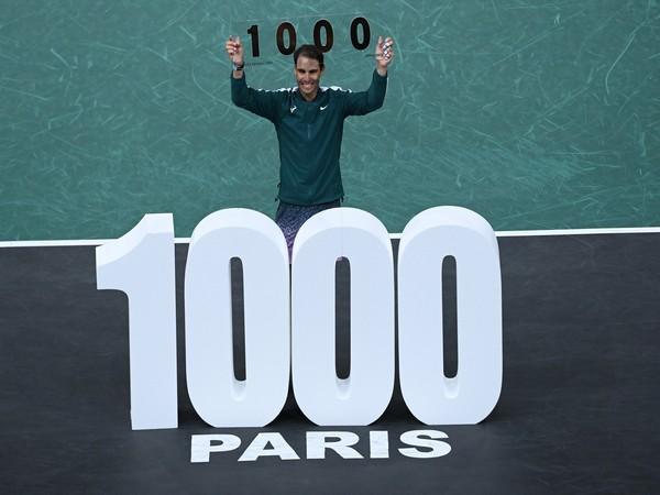 Rafael Nadal (Photo/ Paris Masters Twitter)