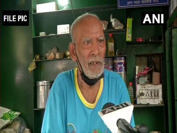 Kanta Prasad, owner of Baba ka Dhaba (File Photo/ANI)