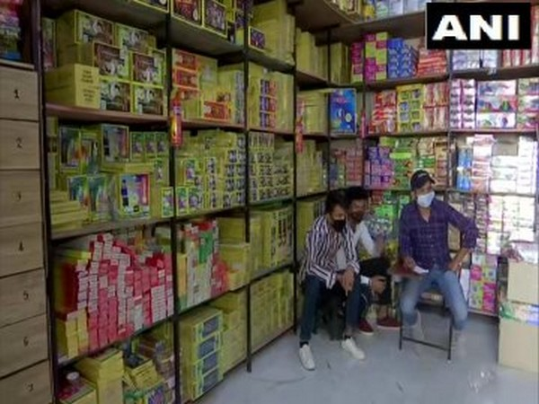 Visual from a firecracker shop (Photo/ANI)