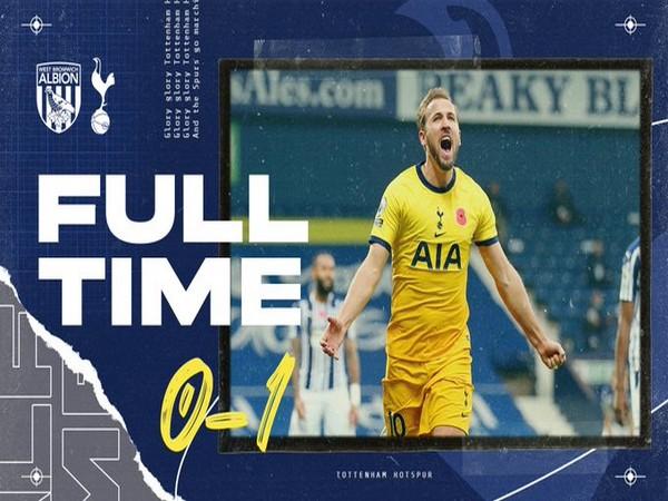 Tottenham defeat West Brom (Photo/ Tottenham Hotspur Twitter)