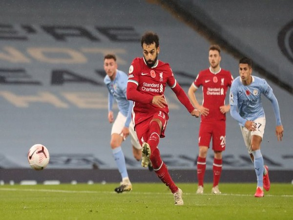 Liverpool's Mohamed Salah in action against Manchester City (Photo/ Liverpool FC Twitter)
