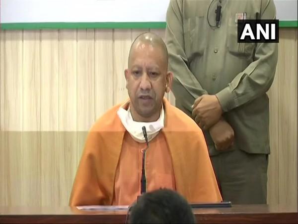 Uttar Pradesh Chief Minister Yogi Adityanath [Photo/ANI]