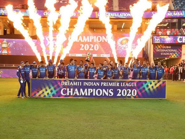 Mumbai Indians won the IPL title after defeating Delhi Capitals. (Photo/ IPL Twitter)