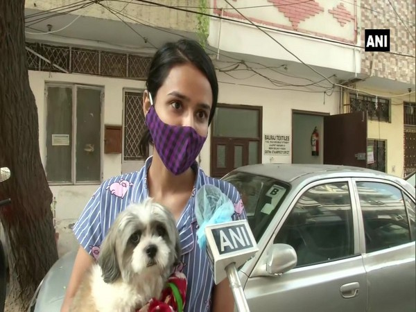 A Delhi pet-owner in conversation with ANI. (Photo/ANI)