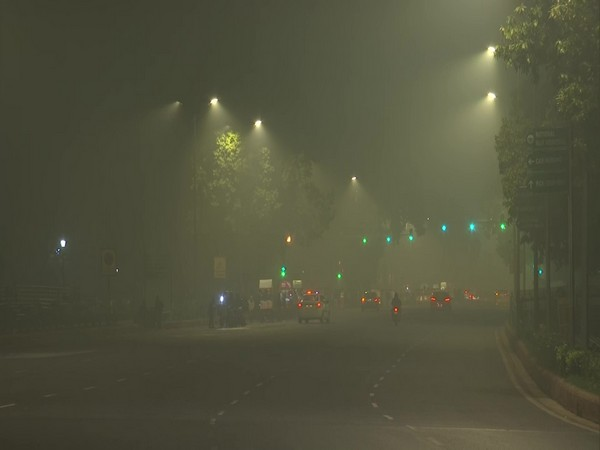 A visual from India Gate area in New Delhi on Saturday night. Photo/ANI