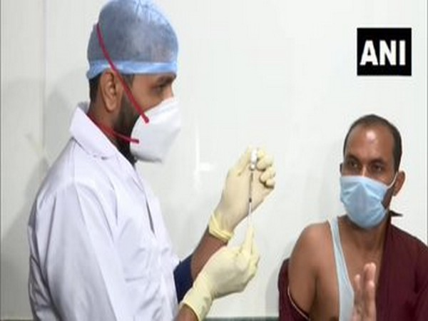 Phase-3 trial of COVID-19 vaccine Covaxin has begun at Sola Civil Hospital in Ahmedabad. (Photo/ANI)