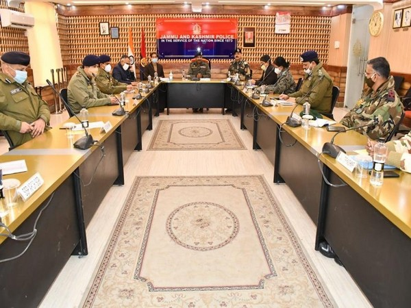 The meeting chaired by DGP Dilbag Singh in Srinagar.