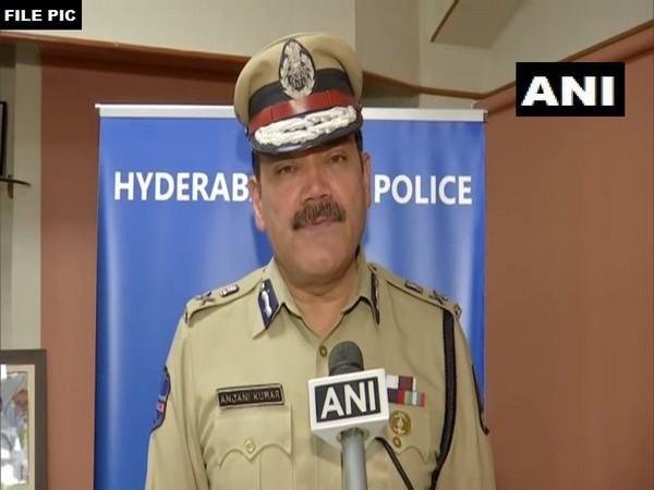 Anjani Kumar, Hyderabad City Police Commissioner [Photo/ANI]