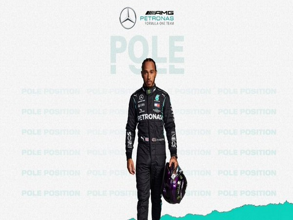 Lewis Hamilton takes pole at Bahrain Grand Prix (Photo/ Mercedes F1 Twitter)