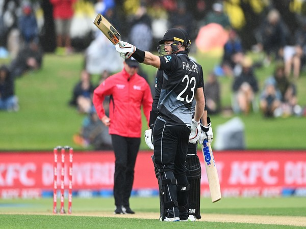 Phillips's century takes New Zealand to 238 against West Indies in 2nd T20I. (Photo/ BLACKCAPS Twitter)
