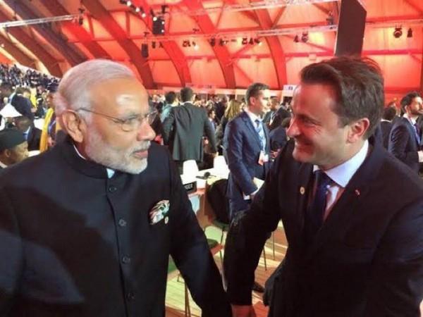 Prime Minister Narendra Modi and Luxembourg counterpart Xavier Bettel