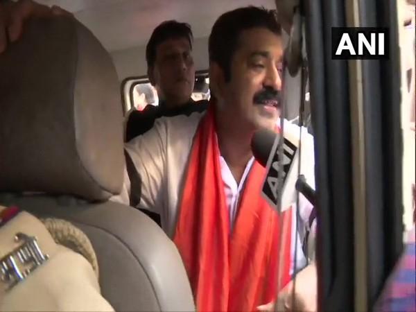 Bharatiya Janata Party MLA Ram Kadam detained on his way to protest in Palghar. (Photo/ANI)