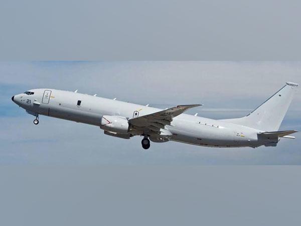 A picture of P-8I surveillance plane. Photo/ANI