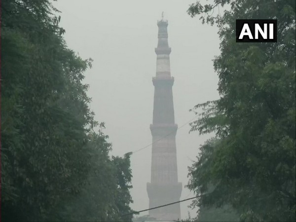 Visuals from the Qutub Minar area. (Photo/ANI)